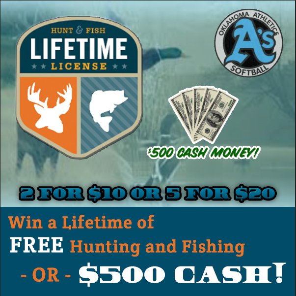 lifetime hunting & fishing license